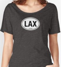 LAX - EURO STICKER Women's Relaxed Fit T-Shirt