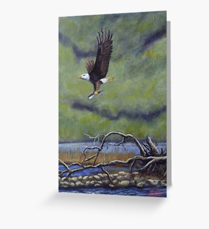 Eagle River Greeting Card