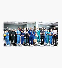 Casualty Cast 2014  Photographic Print