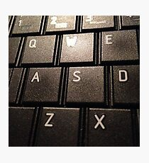 keyboard. Photographic Print