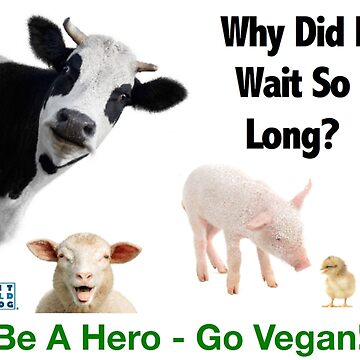 Products Designed To Help You Save The Animals From Factory Farms! by FitOldDog