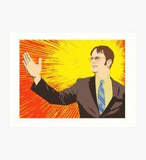 Dwight  - Rising Sun Art Print