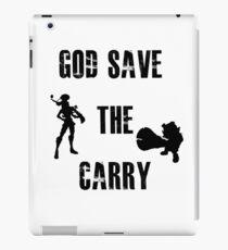 God save the carry iPad Case/Skin