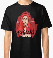 """Red Storm Rising"" Eva Marie Classic T-Shirt"