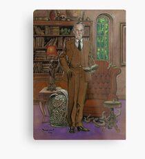 H.P.Lovecraft Art Metal Print