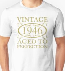 Vintage 1946 Birthday T-Shirt