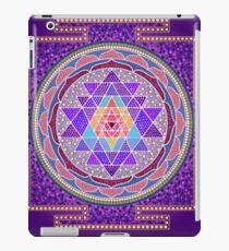 Sri Yantra Purple iPad Case/Skin