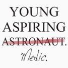 Young Aspiring Medic (EMT) by pixhunter