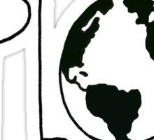 Explore the Globe Sticker