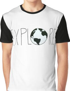 Explore the Globe Graphic T-Shirt