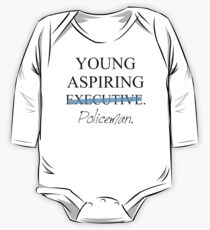 Young Aspiring Policeman One Piece - Long Sleeve