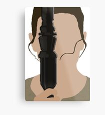The Force Awakens: Rey Metal Print