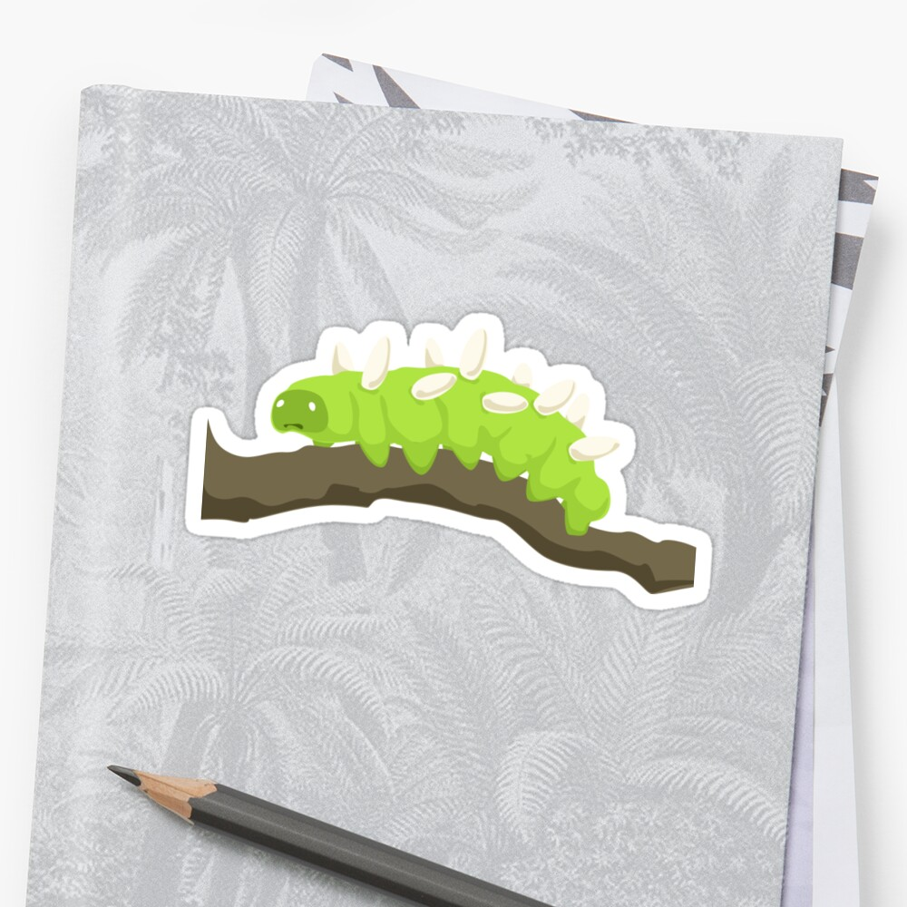 The Saddest Caterpillar Sticker