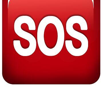 SOS emoji by egpjman