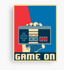 NES Revolution Canvas Print