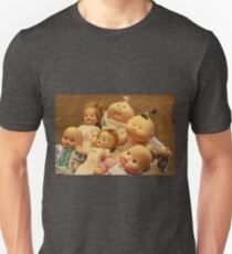 Baby Dolls Over the Years Unisex T-Shirt