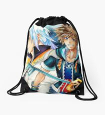 Riku & Sora (Kingdom Hearts) Drawstring Bag
