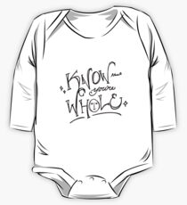 Know that you're whole (Hedwig) One Piece - Long Sleeve