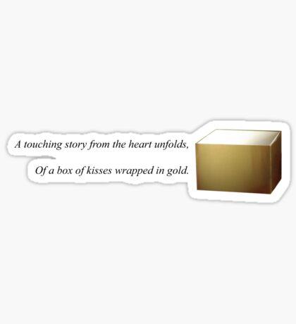 A Box of Kisses Sticker