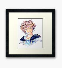 Happy Sora (Kingdom Hearts) Framed Print