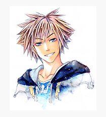 Happy Sora (Kingdom Hearts) Photographic Print