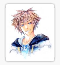 Happy Sora (Kingdom Hearts) Sticker