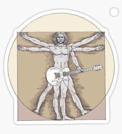 Vitruvian Rock Sticker