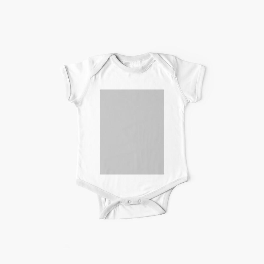 Beautiful Cushions/ Plain Silver Baby One-Piece