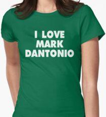 I LOVE MARK DANTONIO Michigan State Spartans Football Womens Fitted T-Shirt