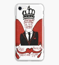 moriarty you should see me in a crown iPhone Case/Skin
