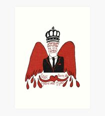 moriarty you should see me in a crown Art Print