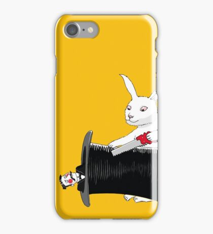 Rabbit vs. Magician iPhone Case/Skin