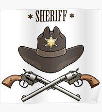 Sheriff Emblem Poster