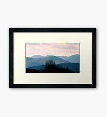 Blue Hills   ^ Framed Print