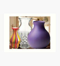 Three Vases Art Print