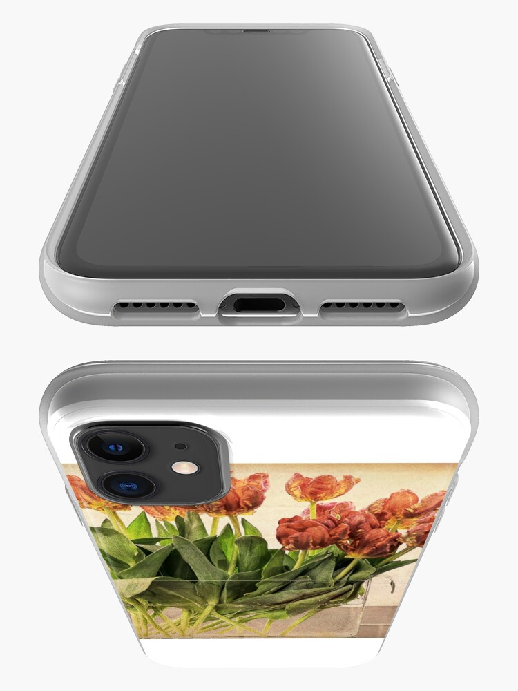 Alternate view of Tulips in Vase iPhone Case & Cover