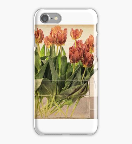 Tulips in Vase iPhone Case/Skin