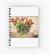 Tulips in Vase Spiral Notebook