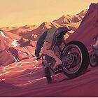 Strange Sunset by Jon-west