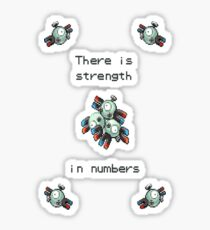 Pokemon - Magneton - Pokemon Sticker
