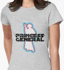 """""""Princess—General, Sorry."""" Women's Fitted T-Shirt"""