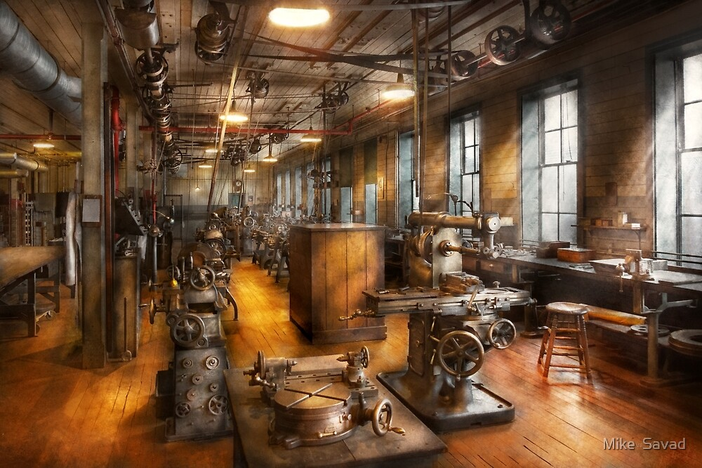 Machinist - Industrious Society by Michael Savad