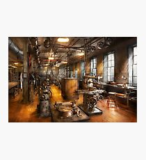 Machinist - Industrious Society Photographic Print