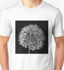 White Allium Unisex T-Shirt