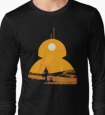 Star Wars The Force Awakens BB8 Poster Long Sleeve T-Shirt