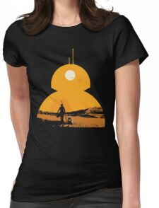 Star Wars The Force Awakens BB8 Poster Womens Fitted T-Shirt
