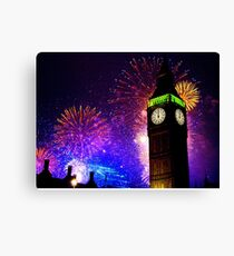 Happy New Year !! Canvas Print