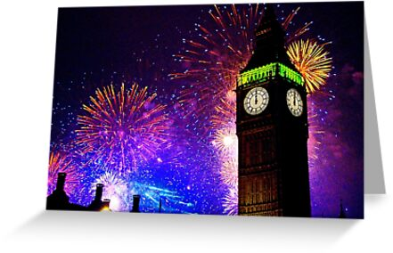 Happy New Year !! by Colin  Williams Photography