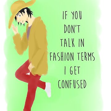 Fashion Terms by MissCupidTurtle