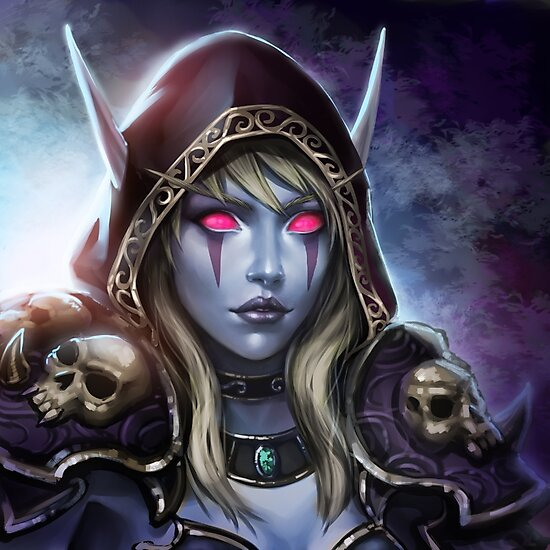 Quot Lady Sylvanas Windrunner Quot Photographic Print By Tsuyoshi
